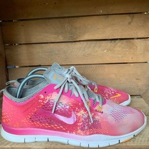 • nike • free TR 4 shoes pink 10
